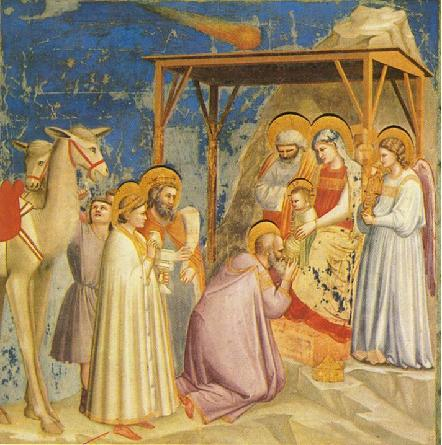 AdorationOfMagi,Giotto