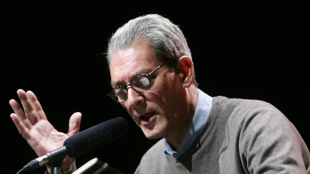 Paul Auster Lecture At Kampnagel