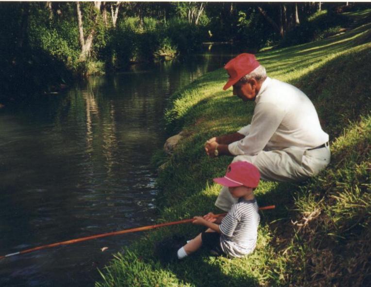 greg and bob august 2000