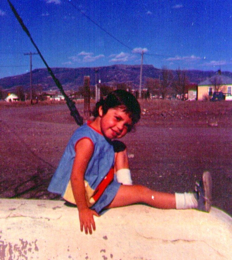 Leticia - probably about four years of age