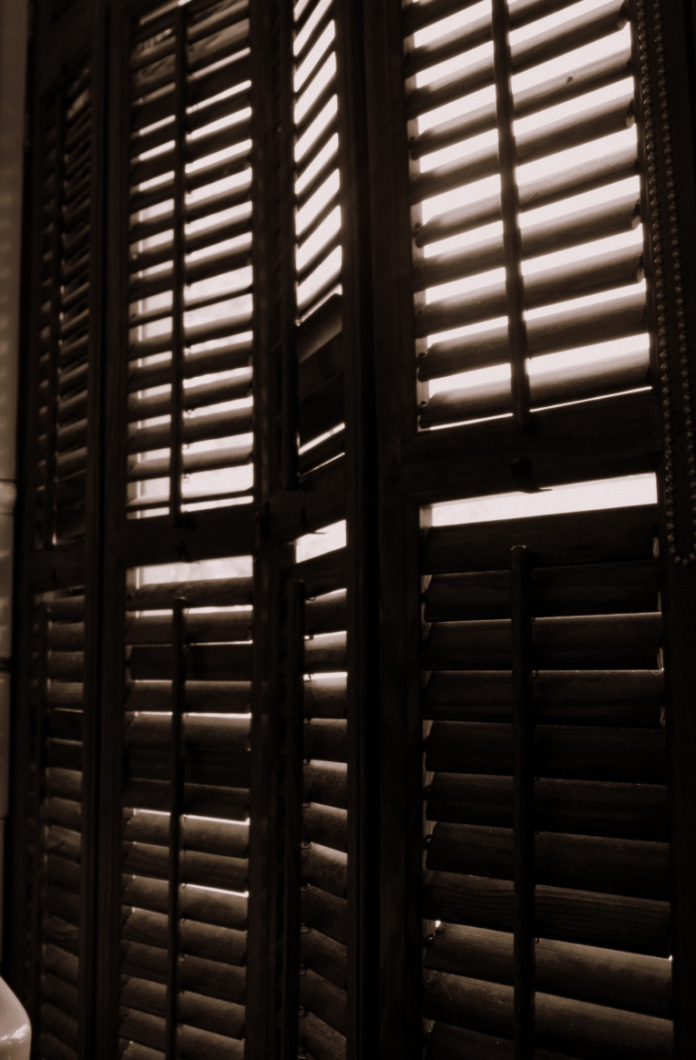 slats and light