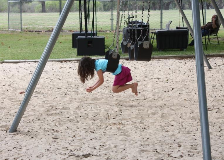 fun in the swing