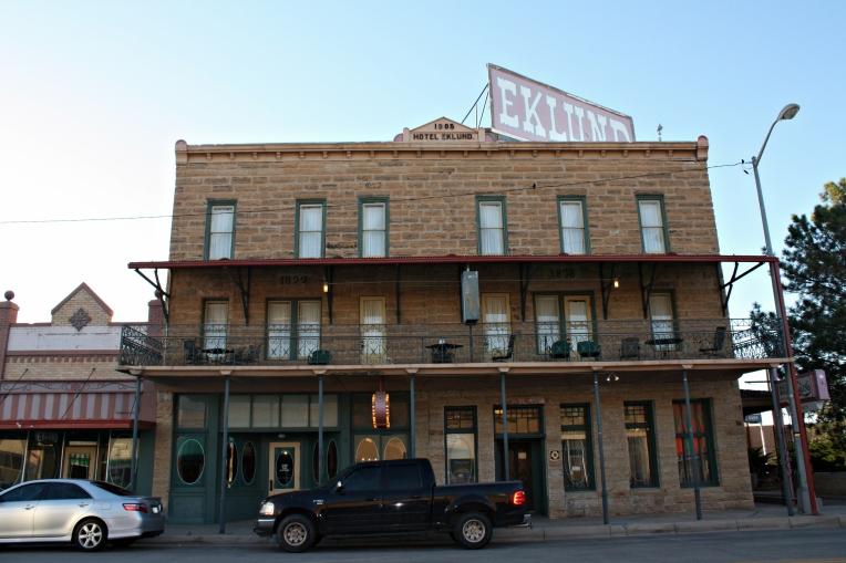 Eklund Hotel Clayton, New Mexico