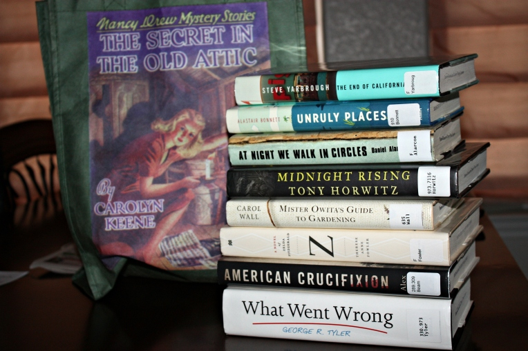 library loot - aug 2014